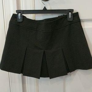 Hot kiss black school girl pleated skirt
